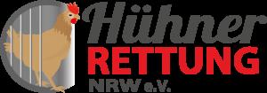 Hühnerrettung NRW eV Logo Mobile