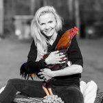 Hühnerrettung NRW - Abbildung Kiki Hilgers