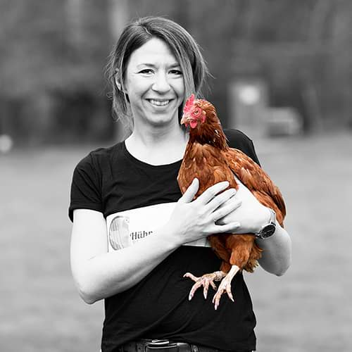 Hühnerrettung NRW - Abbildung Nadine Soboll