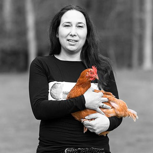 Menschen - Huehnerrettung NRW - Kathrin